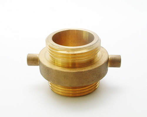 Brass Double Male Adapter, Male to Male Threads